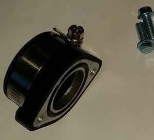Manchon/Adaptateur caoutchouc pour carburateur Mikuni VM24